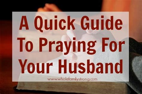 40 scripture based prayers to pray your husband the just prayers version of a s 40 day fasting and prayer journal books a guide to praying for your husband whole family