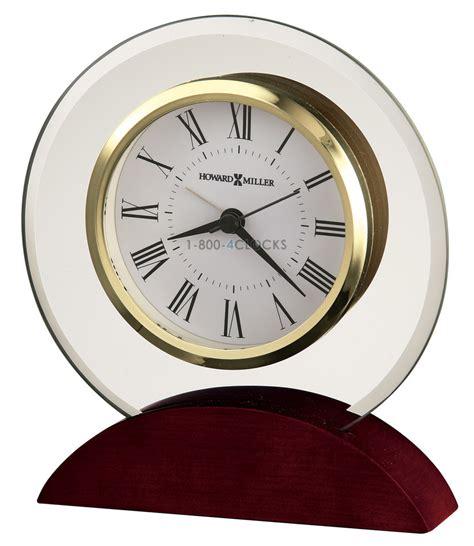 table top grandfather clock howard miller deco tabletop clock at 1 800 4clocks com