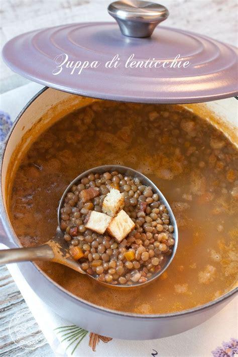 cucina dietetica bimby oltre 25 fantastiche idee su zuppa di lenticchie su