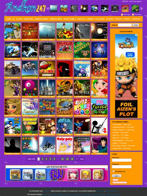 Free Online Arcade Games about andkon247 andkon