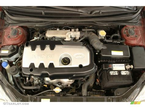 hyundai accent 1 6 dohc engine 2007 hyundai accent se coupe 1 6 liter dohc 16v vvt 4