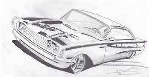 cool car drawings