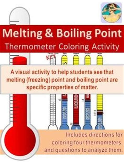 printable periodic table with melting and boiling points melting freezing point and boiling point thermometer