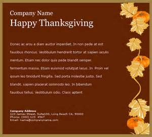 Happy Thanksgiving Email Templates by Email Templates 賀卡 Thanksgiving Ii