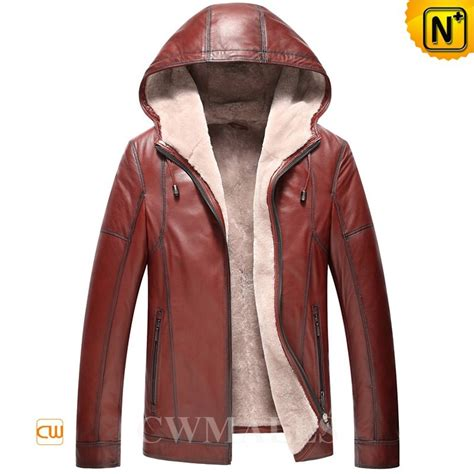 Jaket Simpel Elegan Hooded Jacket mens hooded shearling lined jacket cw857168