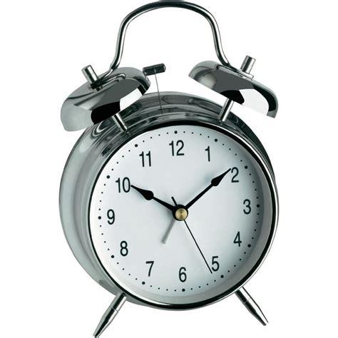 tfa 98 1043 quartz alarm clock silver alarm times 1 from conrad