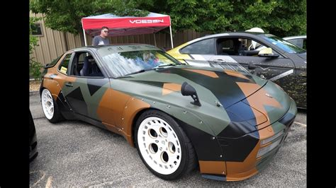 widebody porsche 944 custom wide porsche 944 turbo 951 and other import