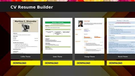 Resume Builder Ratings by Cv Resume Builder