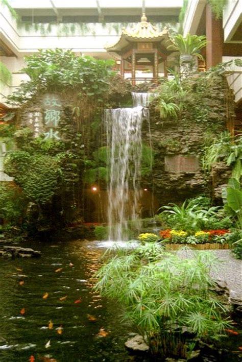 Gartenteich Wasserfall