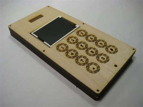 homemade plywood gadgets diy mobile phone