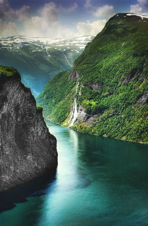 fjord urlaub norway geiranger fjord travel norway pinterest