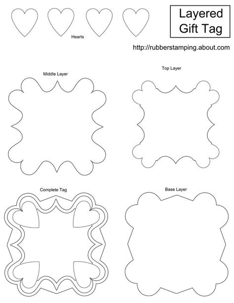 Best 25 Gift Tag Templates Ideas On Pinterest Tag Templates Christmas Tag Templates And Printable Gift Tags Templates