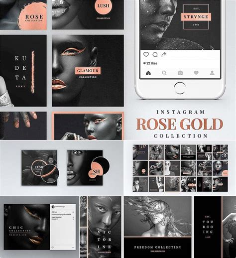 instagram rose gold bundle