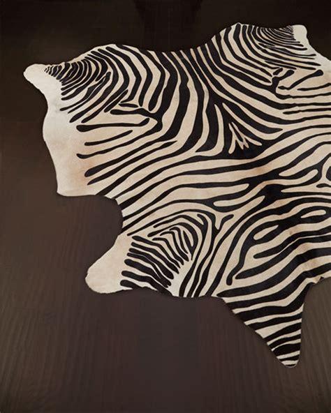 zebra hide rug quot zebra quot hide rug