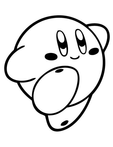 nintendo kirby coloring pages to print kirby coloring pages printable video game coloring pages