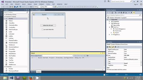 tutorial visual studio 2013 c beginners tutorial simple program 3 using visual