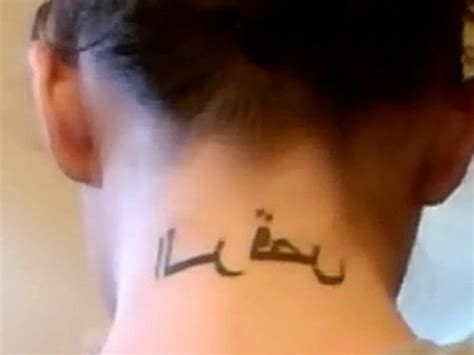 tattoo back words 45 words neck tattoos