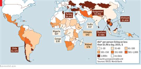 map us foreign aid by country 2016 misplaced charity foreign aid