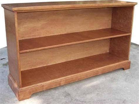 low bookcase plans woodwork