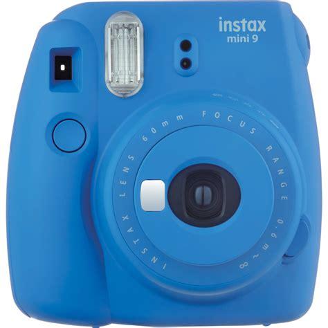 polaroid fuji fujifilm instax mini 9 instant cobalt blue