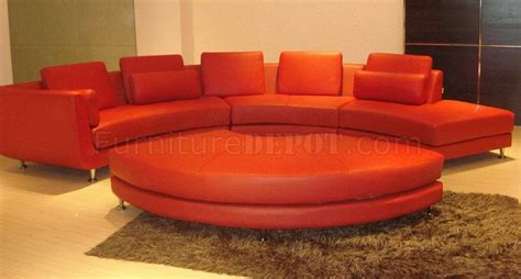 ultra modern leather sofas red leather sectional sofa roselawnlutheran