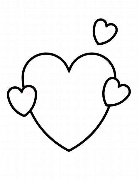 coloring page heart shape free printable shapes coloring pages for kids