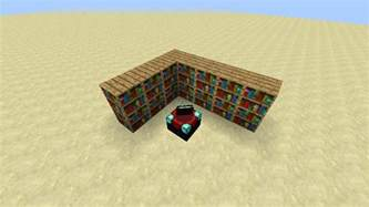 Minecraft Enchantment Table Bookshelves Minecraft How To Build A Enchanting Table Arqade