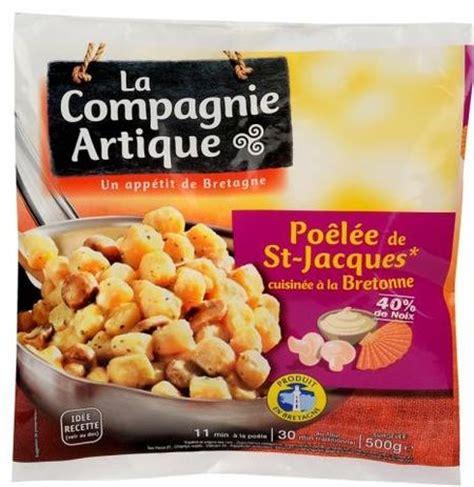 cuisiner les st jacques surgel馥s po 234 l 233 e de st jacques cuisin 233 es 224 la bretonne de la