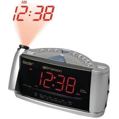 automatic time set clock radio emerson cks3516 smartset dual alarm clock radio with time