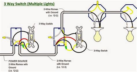 electrical engineering world 3 way switch lights