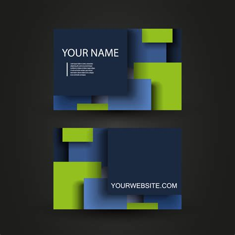 free customizable business card template personalized business card template card card vector free