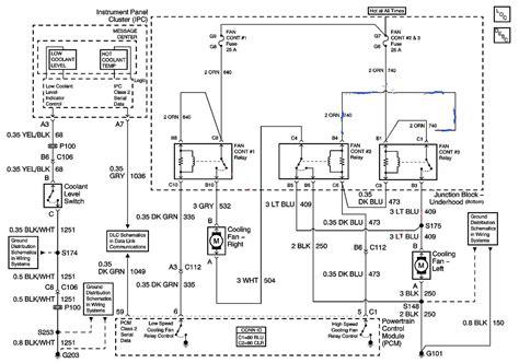 radiator fan relay wiring diagram wiring diagram