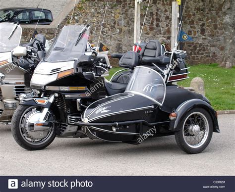 Honda Motorrad Uk by Honda Goldwing Motorbike Motorcycle Stockfotos Honda