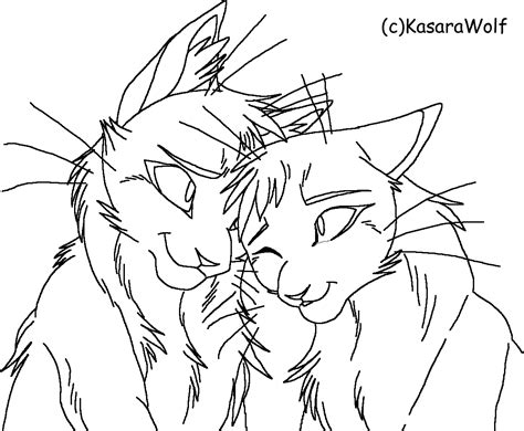 warrior cat coloring only coloring pages