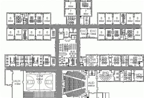 middle school floor plans find house plans school elevation of school building w 2nd floor school
