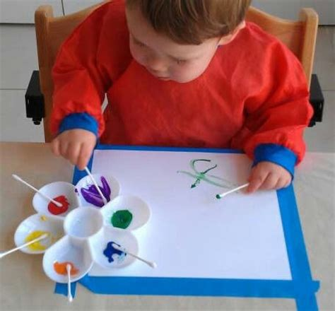arts and crafts for toddlers for q tip painting preschool ideas