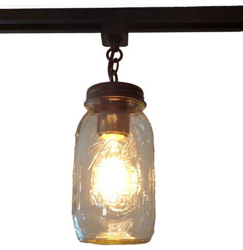 jar track lighting jar track lighting single quart farmhouse