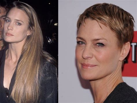 how to get robin wright pixie cut robin wright s super short pixie haircut for house of