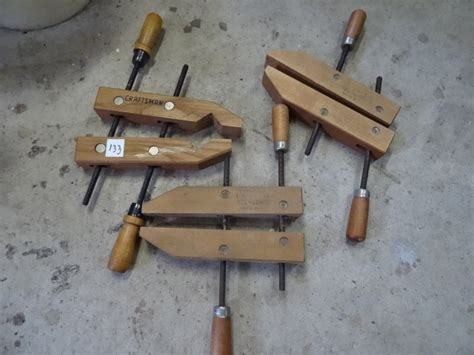 woodworking cl 2 jorgensen and 1 craftsman wood cl k c auctions