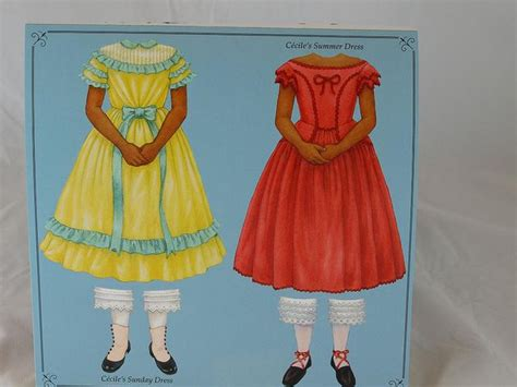 American Doll Paper Crafts - paper crafts for ag dolls grace