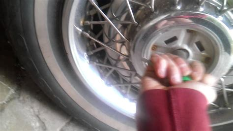 how to remove old cadillac wire hubcaps youtube