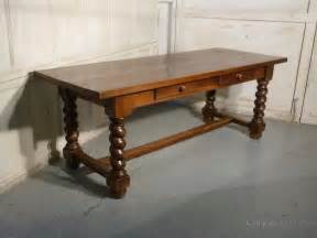 unfinished farmhouse table solid oak farmhouse table antiques atlas