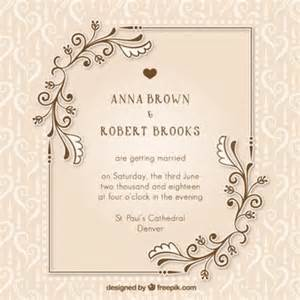 wedding invitations with pictures templates mariee vecteurs et photos gratuites