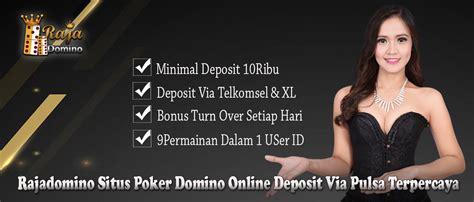 rajadomino situs poker  bandar domino qq  pkv games deposit  pulsa