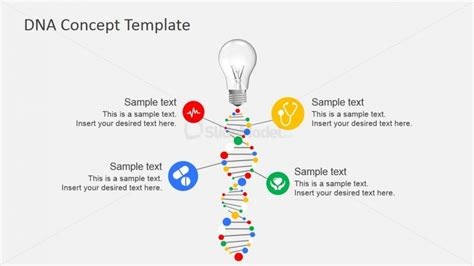 dna templates 7200 01 dna concept template 6 slidemodel