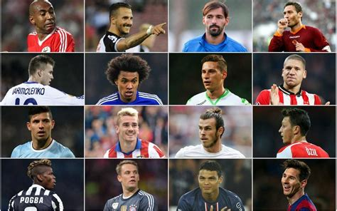 best football leagues the chions league top 16 players ranked football
