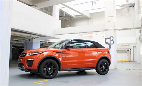 land rover singapore range rover evoque convertible review