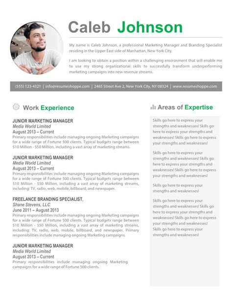 The Resume by The Caleb Resume
