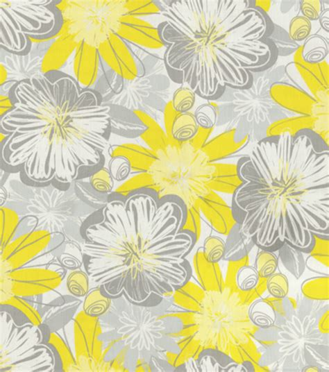 Hgtv Upholstery Fabric by Upholstery Fabric Hgtv Home Flower Oyster Jo
