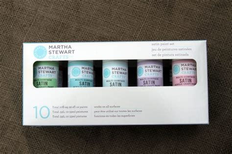 new martha stewart paint line by plaid 187 dollar store crafts